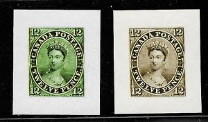 Canada #3 Mint Color Proof - RARE Reprint