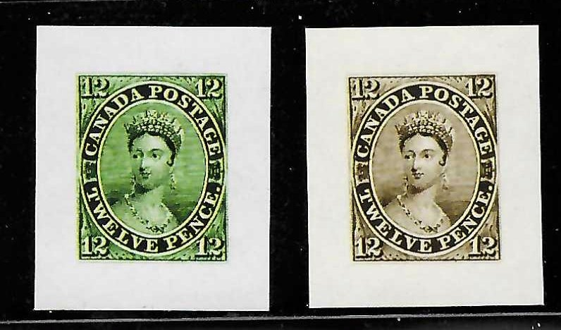 Canada #3 Mint Color Proof - RARE Reprint