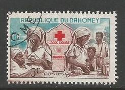 DAHOMEY 156 VFU RED CROSS NURSE 22F-1