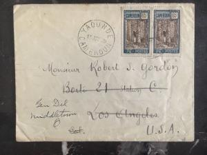 1925 Yaounde Cameron Cover Redirected To Los Angeles Ca Usa