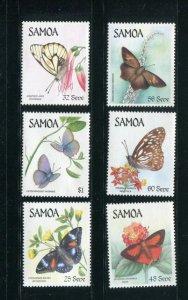 Samoa #660-5 MNH