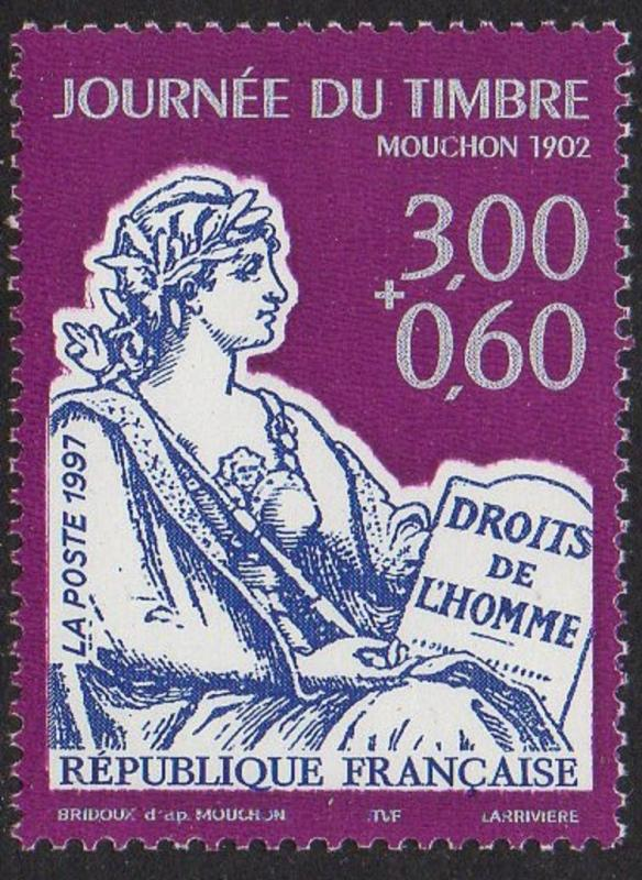 France 1998 Stamp Day VF MNH (2568)