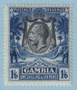 GAMBIA 114  MINT HINGED OG * NO FAULTS VERY FINE !