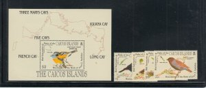 CAICOS IS SCOTT 60-3 + SS VF NH SCOTT $17.60 BUY IT NOW @ $7.95