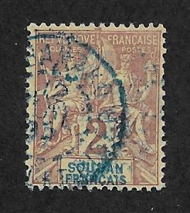 FRENCH SUDAN SC# 4   FVF/U  1894