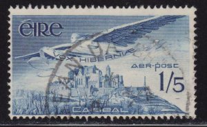 Ireland Airmail # C7 Angel over Rock of Cashel , F-VF Used - I Combine S/H