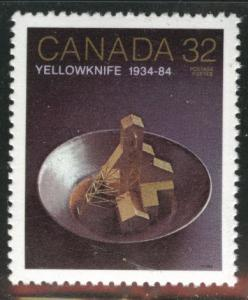 Canada Scott 1009 MNH** 1984 Yellowknive gold mine stamp