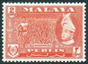 Perlis 1957 2c Pineapples MH