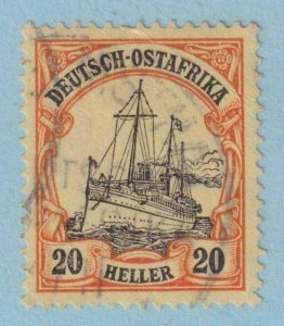 GERMAN EAST AFRICA 35  USED -  NO FAULTS EXTRA FINE!