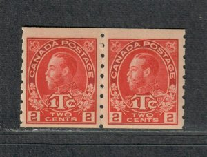Canada Sc#MR6 M/NH/F-VF, Coil Pair War Tax, Cv. $660