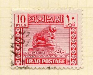 Iraq 1940s Early Issue Fine Used 10f. 169926
