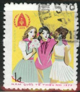 Vietnam  Scott 1008 used stamp