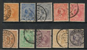 NETHERLANDS 1891 - 94 PRINCESS WILHELMINA