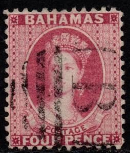 $Bahamas Sc#25 used, VF, wmk 2, perf 12, Cv. $60