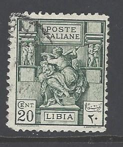 Libya Sc # 39a used perf 11 (RS)