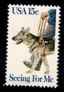USA Scott 1787 Seeing eye dog stamp