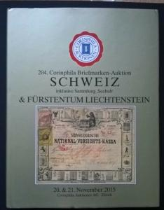 Auction catalogue SCHWEIZ Seebub Altschweiz Classic SWITZERLAND Stamps Covers