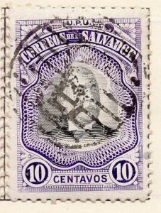 Salvador 1906 Early Issue Fine Used 10c. 148268