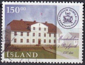 Iceland #829  F-VF Used CV $3.50 (Z2438)