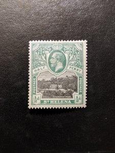 St. Helena 61 VF-XFMH, CV $3.25