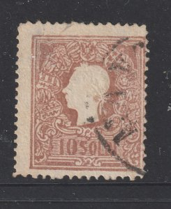 Lombardy & Venetia a used 10sl from 1859