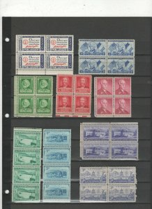 U.S. blocks. sheets, booklets and more Lot # 50