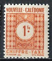 New Caledonia; 1948: Sc. # J35: **/MNH Single Stamp