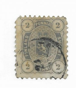 Finland #17 Perfs - Used - Stamp CAT VALUE $57.50