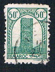 French Morocco 181 Used Tower of Hassan (BP13624)