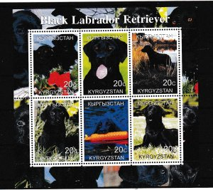 Russia - Local - Kyrgyzstan - DOGS - S.S. - MNH
