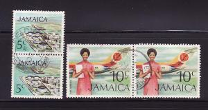 Jamaica 347, 351 Pairs U Various