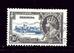 Bermuda 101 Used 1935 KGV Silver Jubilee