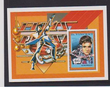 ST.VINCENT  STAMPS MNH OF ELVIS PRESLEY .LOT#444