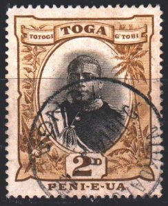 Tonga. 1897. 41c from the series. King of Tonga. USED.