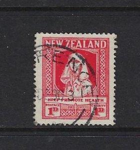 NEW ZEALAND SCOTT #B2 1930 SEMIPOSTAL HELP PROMOTE HEALTH - USED