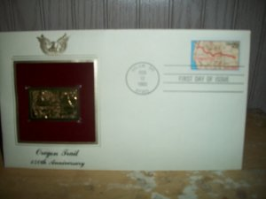 1st Day Cover   Oregon Trail