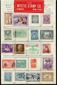 WORLDWIDE STAMPS SELLING PAGE