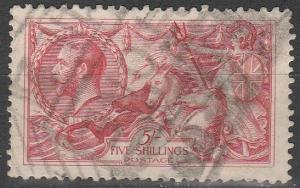 Great Britain #180 F-VF Used CV $125.00 (C7283)