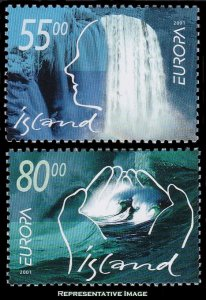 Iceland Scott 937-938 Mint never hinged.