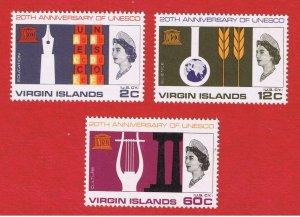 Virgin Islands #176-178  MNH OG    Free S/H