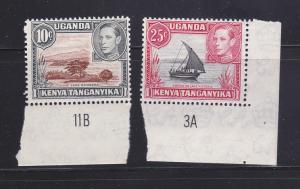 Kenya, Uganda, Tanzania 71, 75 MNH Various (B)