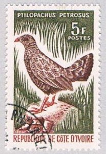 Ivory Coast 233 Used Bird 1965 (BP37124)