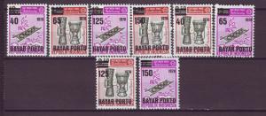 J21184 Jlstamps 1978  indonesia set mh #j130-7 ovpt,s