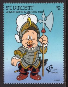 St Vincent 1624 Disney's MNH VF
