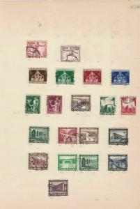 german 1934-36 stamps page ref 17449