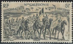 New Caledonia #C15 5fr Chad to Rhine Issue