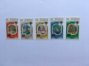 1980 Nicaragua Silver ovp Olympic games Moscow