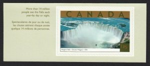 NIAGARA FALLS = stamp cut from booklet = Canada 2003 #1990c MNH