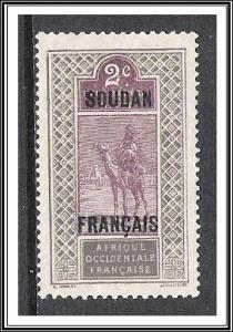French Sudan #22 Camel & Rider NG