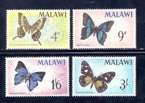 Malawi Sc # 37-40 mint never hinged